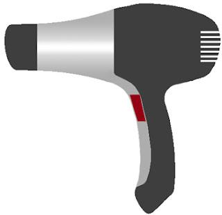 Hairdryer clipart