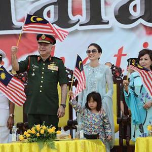 Foto Comel YM Raja Nazira Safya Di Sambutan Merdeka Negeri Perak