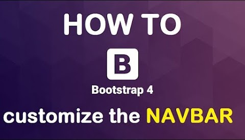 HOW TO change the bootstrap 4 NAVBAR background color.