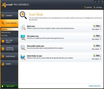 Avast! Free Antivirus 17.3.2291 Screenshot 1