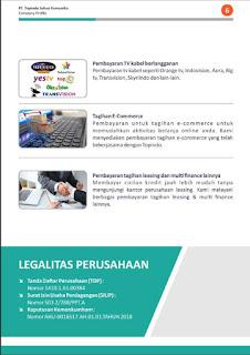Legalitas PT. Topindo Solusi Komunika