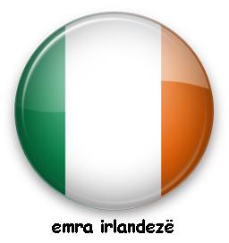 Emra irlandez per femije