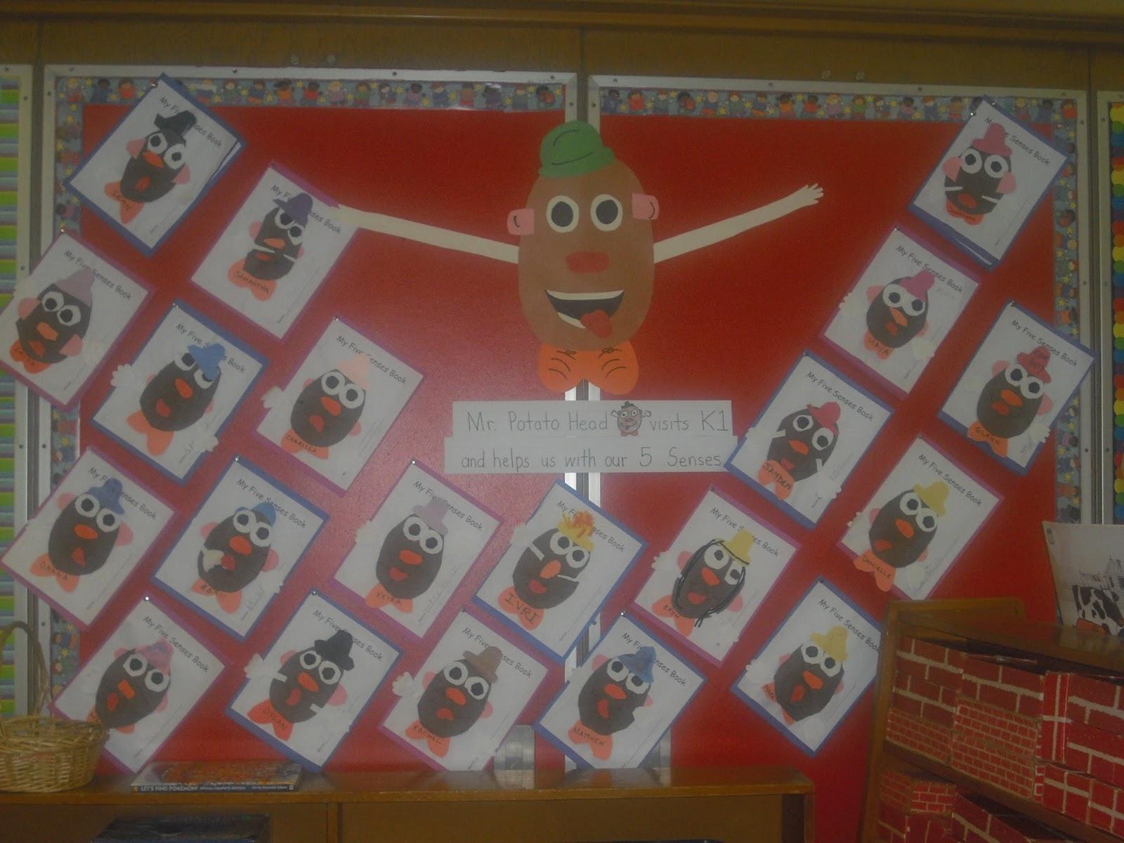 Easy Breezy Kindergarten Squeezy 5 Senses