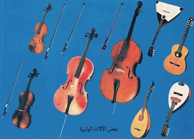 اسماء الآلات الموسيقية   The names of musical instruments