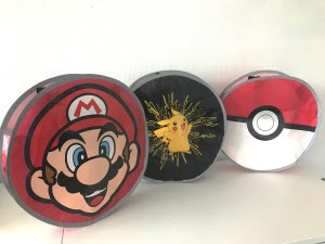 CUTE CUSTOM CANDY BAG WITH REFLECTIVE TRIM AS GAMING MERCHANDISE