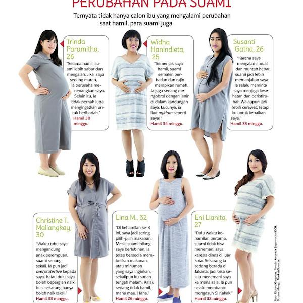 Bumil Mejeng di Majalah (uhukk...)