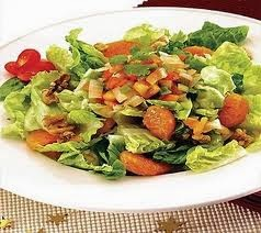 Nut and Lettue Salad with Ponkan Orange Salsa Recipe