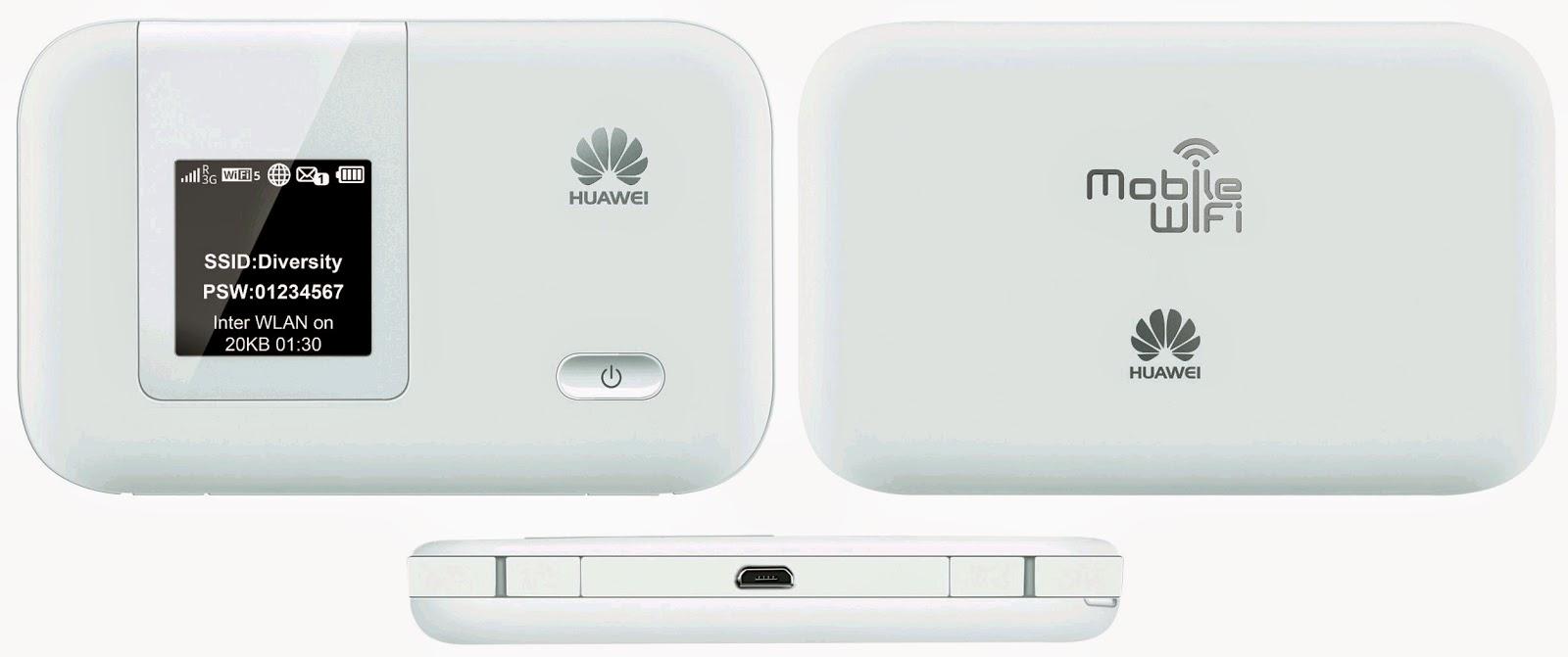 Huawei modem routers zijn in gebruik bij T-mobile/Online ...