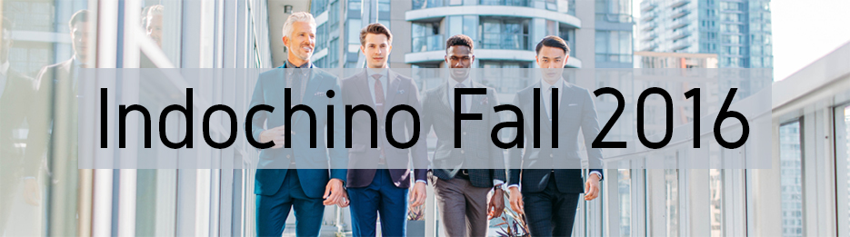 Indochino Fall 2016 Collection