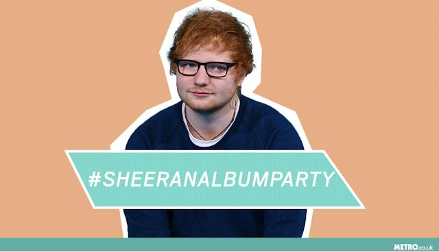 Ed Sheeran's third album has been burst by filthy hashtag