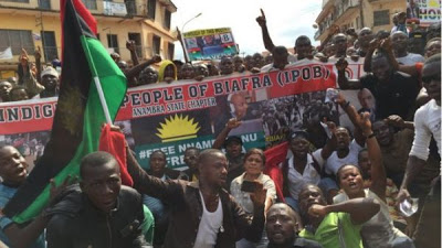ipob burn biafra flag october 1st