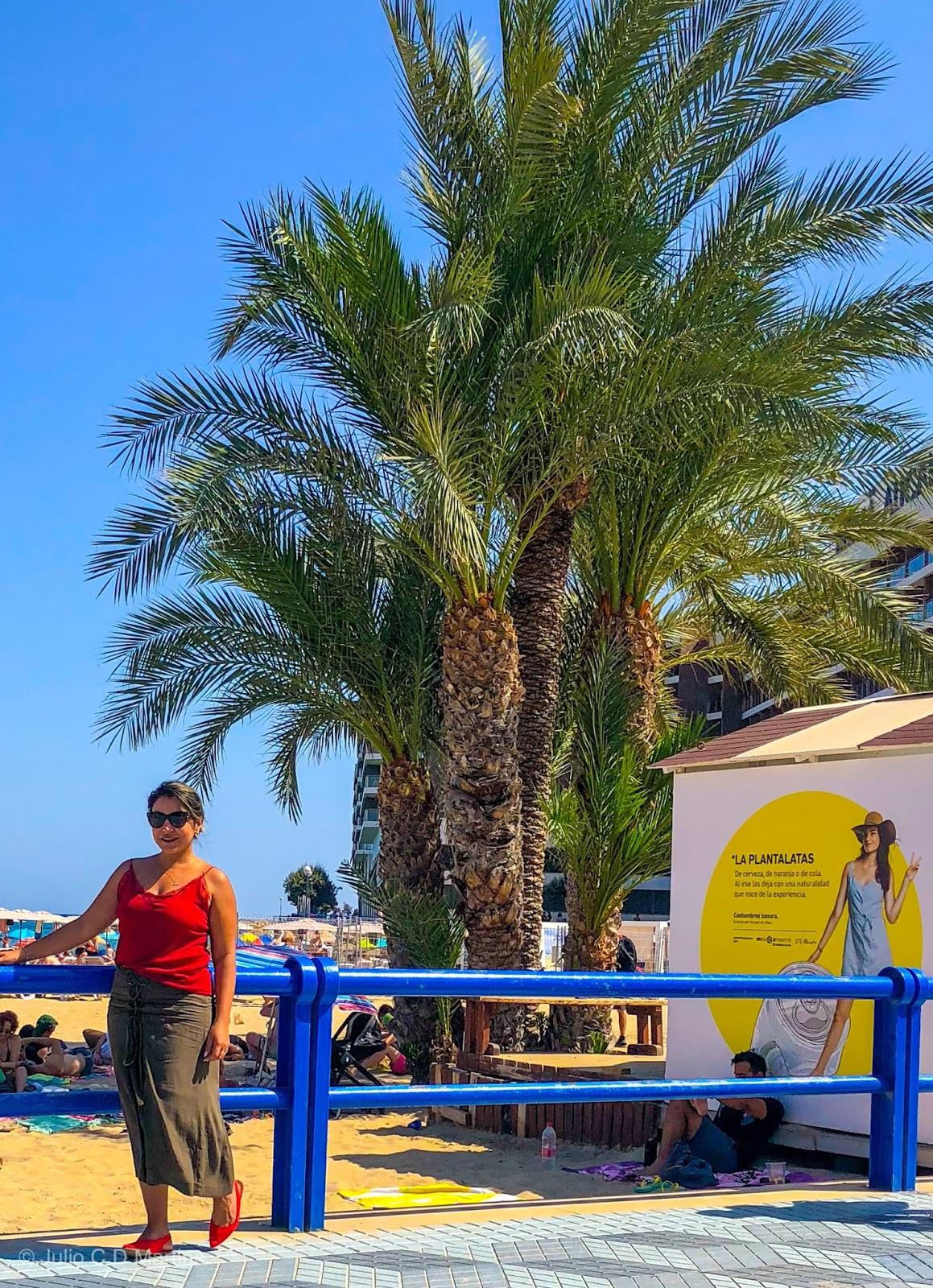 Uma tarde em Alicante, na Espanha