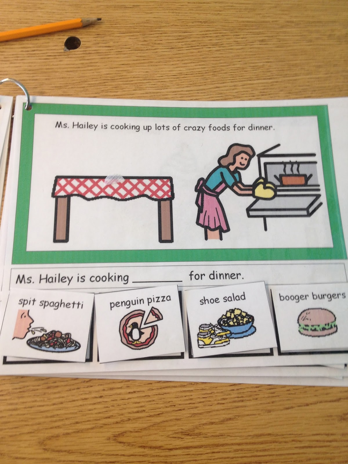 Autism Tank Bbq Mad Libs Book Freebie