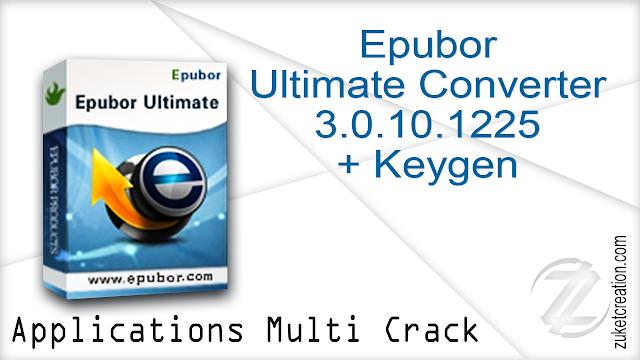 Epubor Ultimate Converter 3.0.10.1225 + Keygen