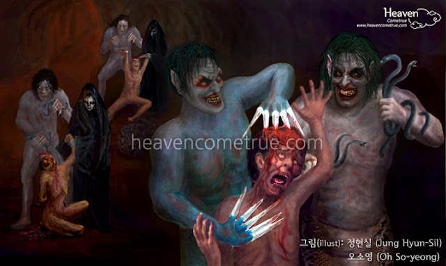 Toàn cảnh về những hình phạt trong Hỏa Ngục của những tội khác nhau