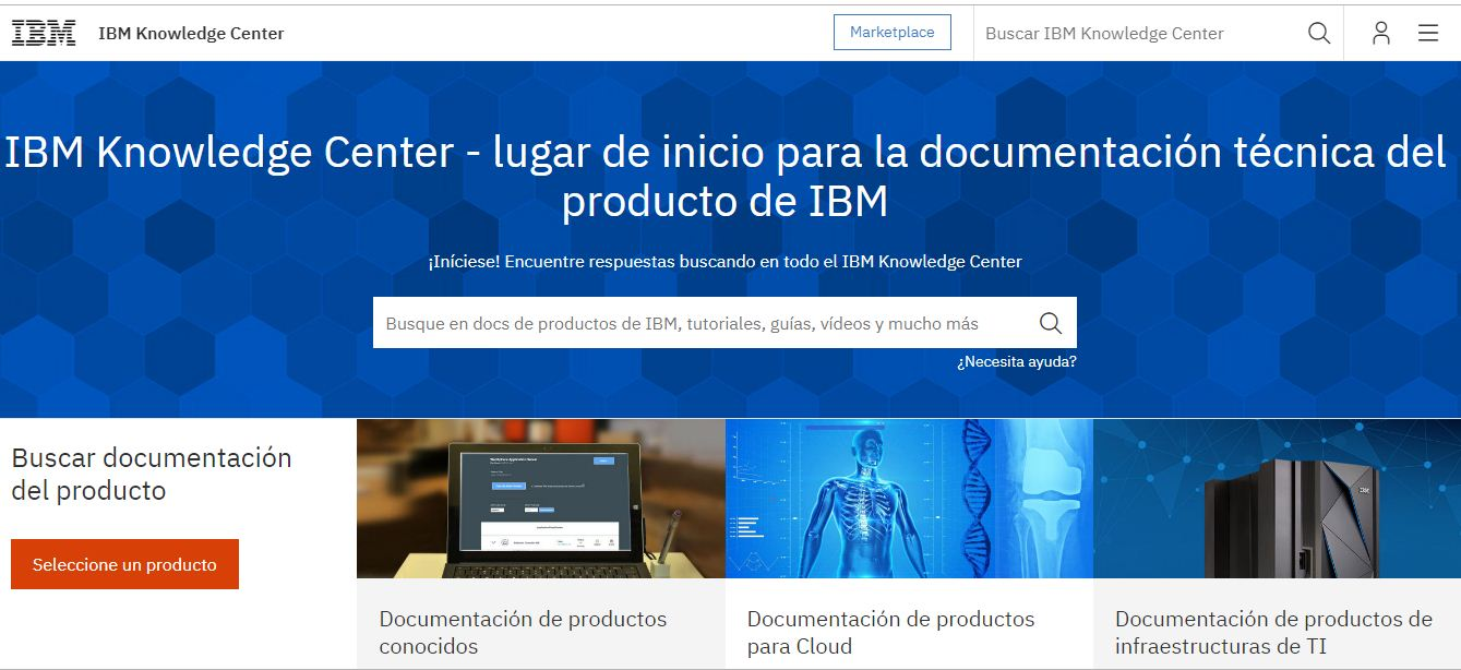 Informática y Docencia: IBM® IBM Knowledge Center
