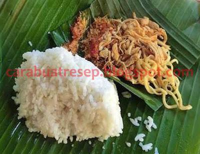 Cara Membuat Nasi Jinggo Bali Resep Masakan Indonesia
