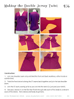 Detailed pattern making notes to make your own sewing patterns.
