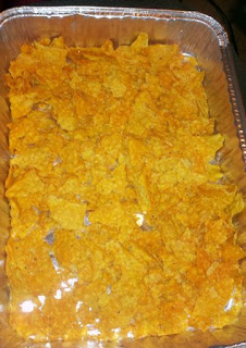 Chicken Dorito casserole, comfort food, country recipes,