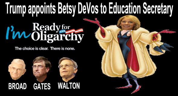 Image result for Teachers Plan Protests Against Trump Education Secretary Pick Betsy DeVos