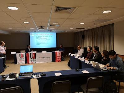 FESUMIN participó en un 4º encuentro de UNI Américas que tuvo como eje la participación femenina en el mundo sindical