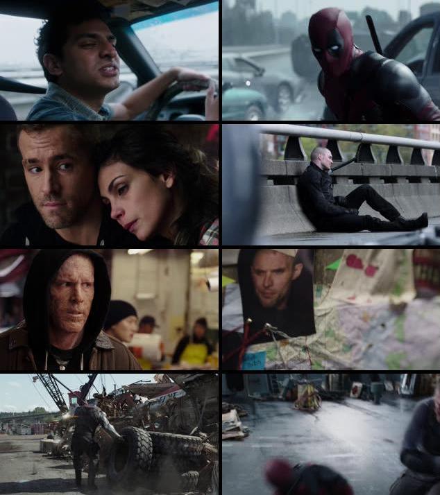 Deadpool 2016 English 720p BRRip