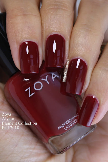 Alyssa Zoya Element Collection Fall 2018