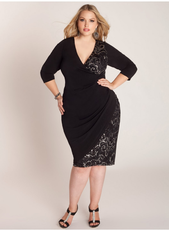 Vestidos para fiestas para mujeres gordas