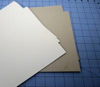 Materiales necesarios para las tapas del libro de firmas