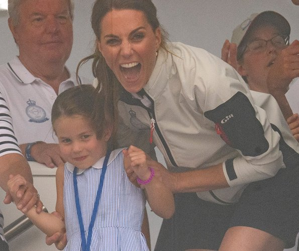 Prince George and Princess Charlotte watched their parents, Kate Middleton and Prince William, compete at the King's Cup