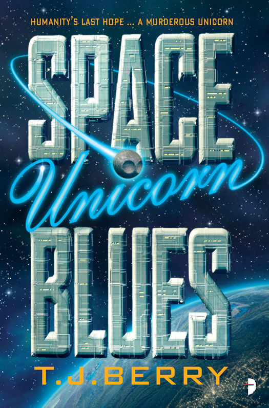 Interview with TJ Berry, author of Space Unicorn Blues