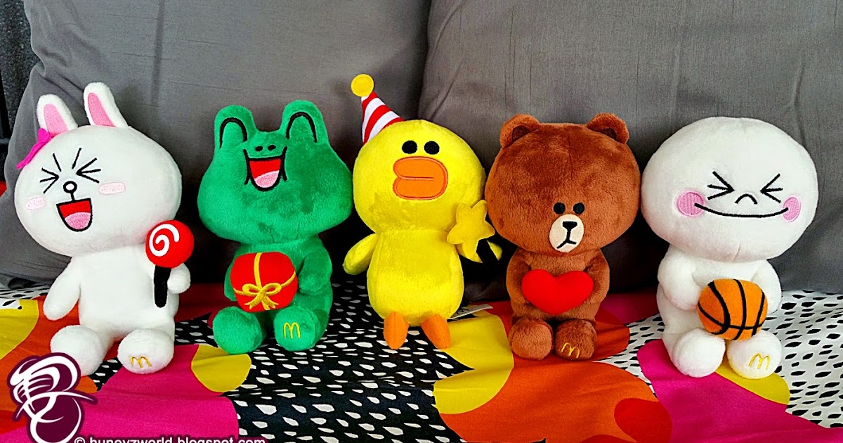 Get Your Line X Mcdonald S Plush Toys Starting 5 January