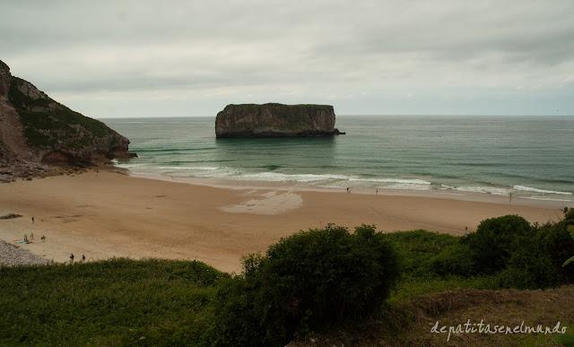 Playa de La Ballota Asturias