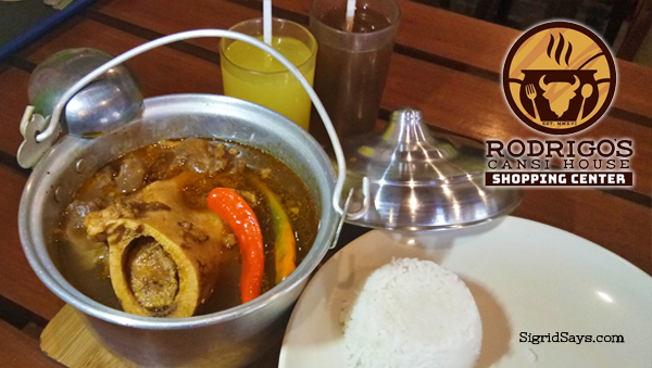 Rodrigo's Cansi House - Bacolod restaurants