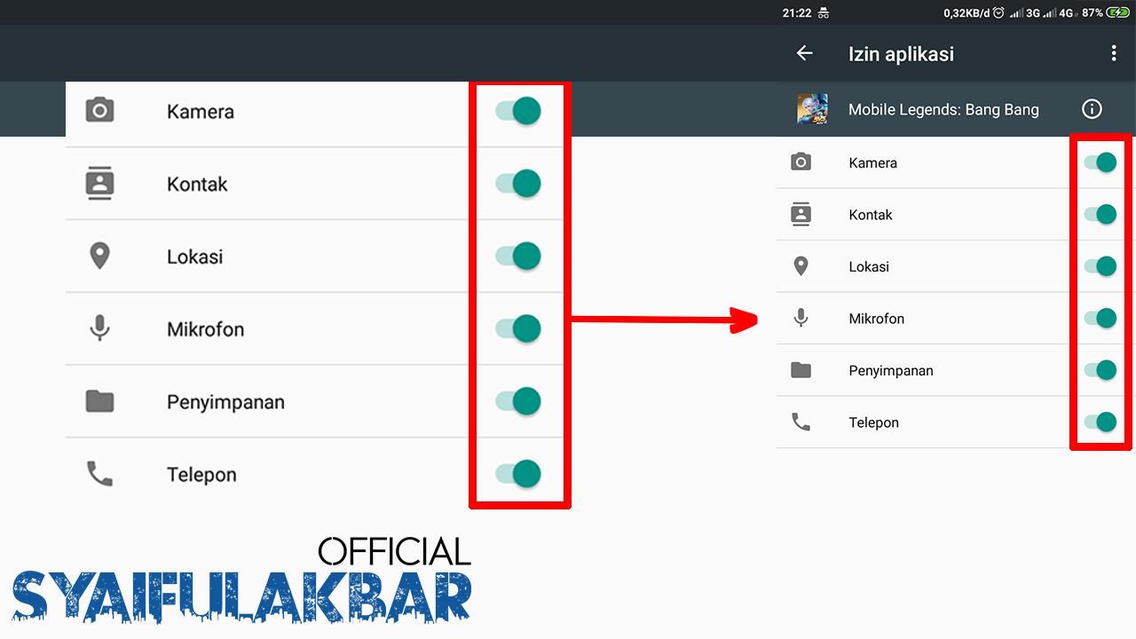 Cara Menampilkan Data Mobile Legends Yang Tidak Muncul Di Android [100% Work]