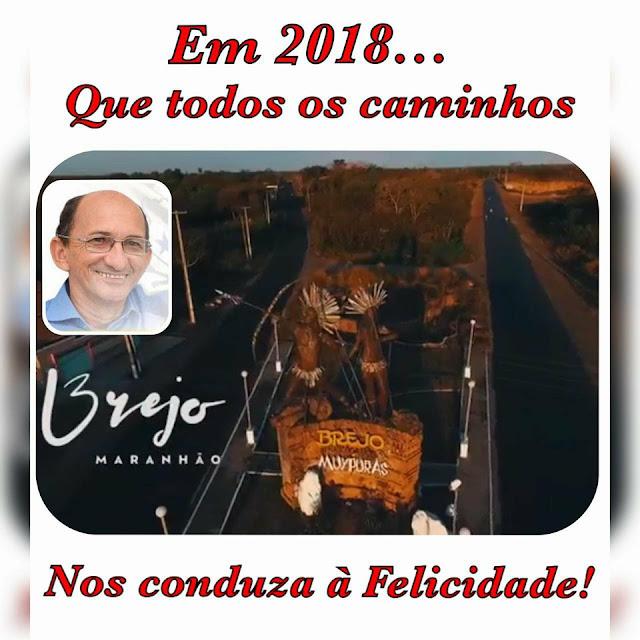 Mensagem de Natal e Fim de Ano do prefeito de Brejo (MA), José Farias de Castro