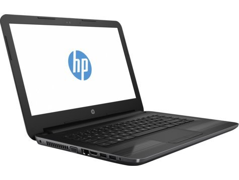 Side angle view of HP 245 G5 Notebook