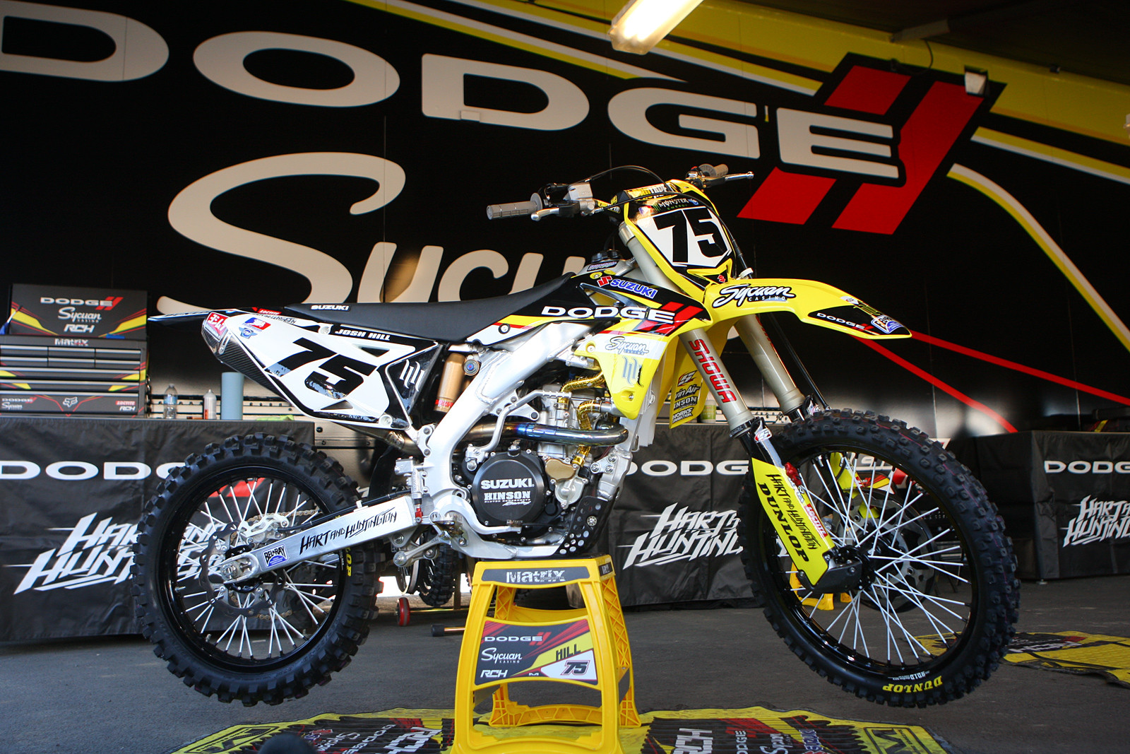 Racing Caf 232 Supercross Racing Motorcycles 450 Class 2013