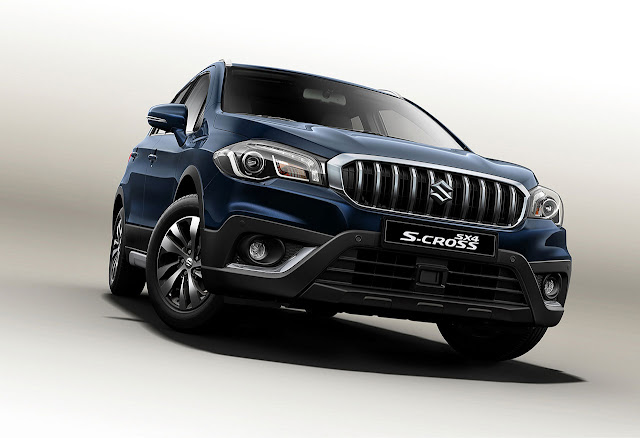 The Face-lift Suzuki S-Cross at the 2016 Paris Motor Show