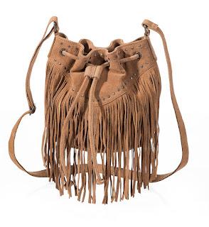 Кожаная сумка с бахромой 2790 руб