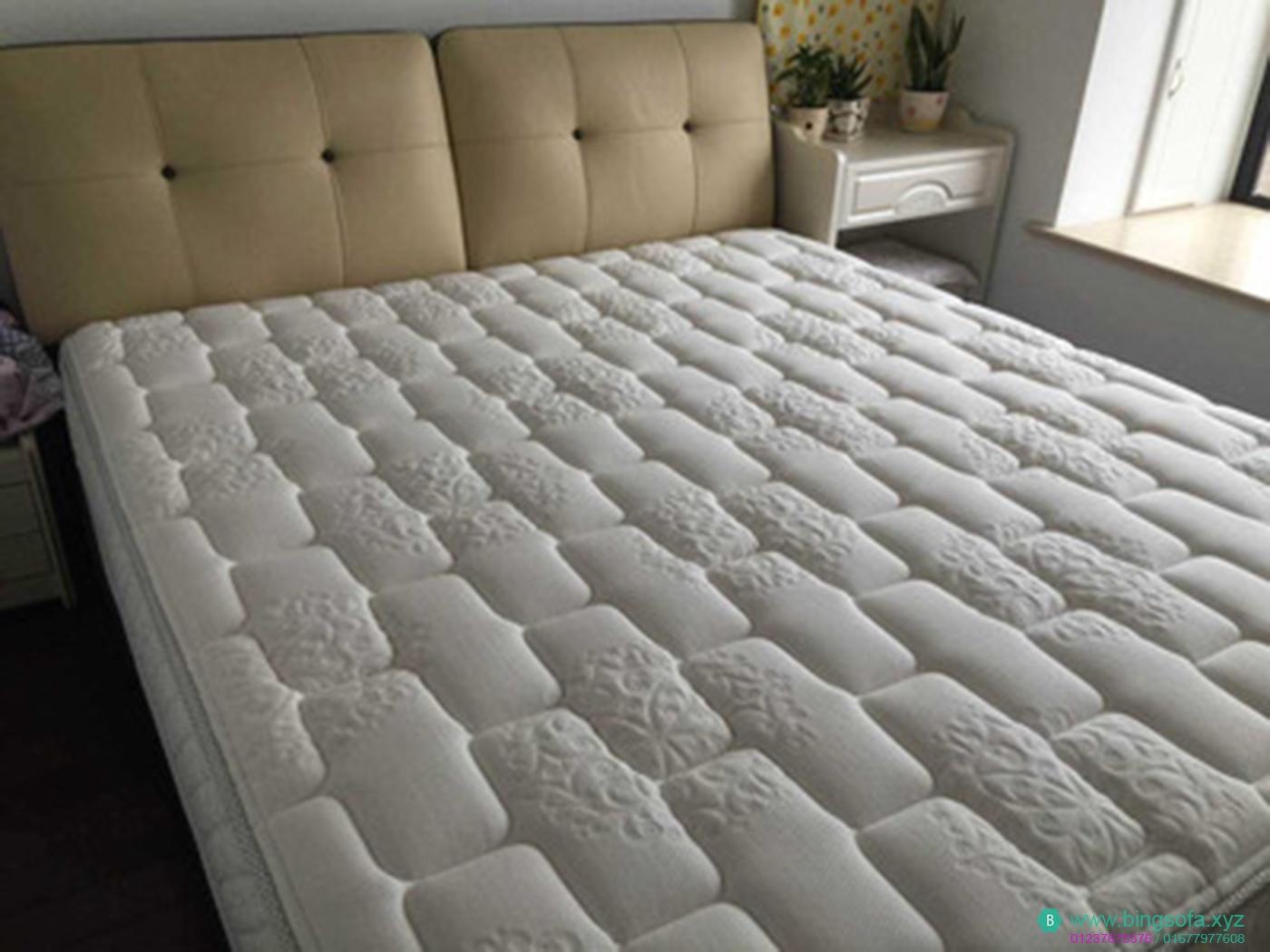 Giường ngủ bọc da cao cấp GN07
