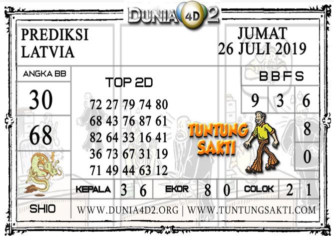 "Prediksi Togel ""LATVIA"" DUNIA4D 26 JULI 2019"