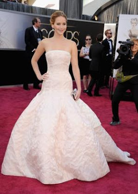 Jennifer Lawrence, Dior, Oscar Awards, Oscar 2013, Jennifer Lawrence gown, Oscar Red Carpet, Oscar Winners