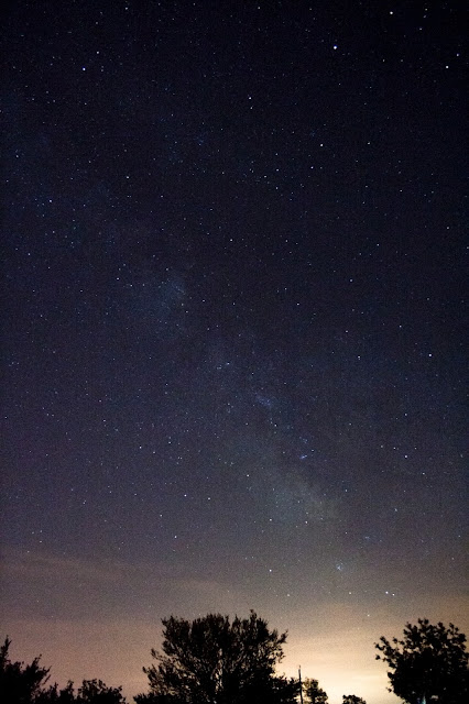 milky way over ohio