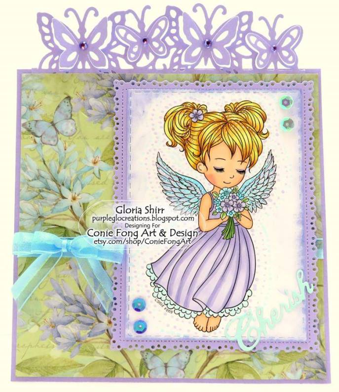 Featured Card - Top 3 Winner at The Fairy and The Unicorn Challenge Blog