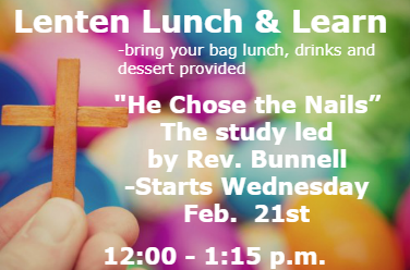 Lenten Lunch and Learn