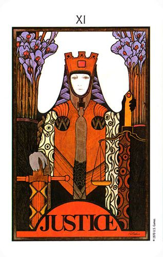 Hound Of Hecate: Tarot: Justice And The INFJ