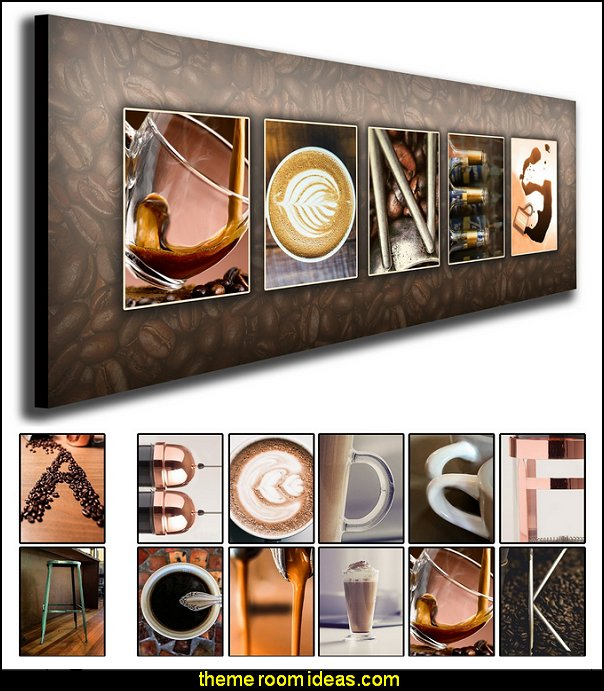 Personalized Coffee Name Art