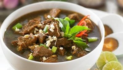 Resep Cara Membuat Rawon Daging Sapi Khas Jawa Timur