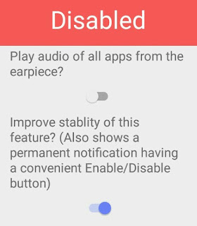 Stealth audio player ko enable kaise kare for full device